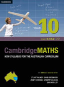 Cover of Cambridge Mathematics NSW Syllabus for the Australian Curriculum Year 10 5. 1 And 5. 2