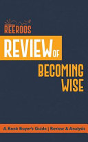 Review of Becoming Wise Book