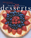 American Heart Association Low fat   Luscious Desserts Book PDF