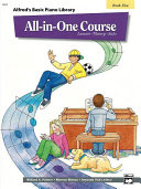 Alfred's Basic All-in-One Course, Book 5 for Piano ebook