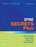Spine Secrets Plus E Book