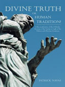 Divine Truth or Human Tradition? Pdf/ePub eBook