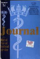 Journal of the Royal Naval Medical Service Book