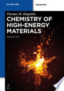 Chemistry of High Energy Materials Book