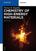 Chemistry of High-Energy Materials Pdf/ePub eBook