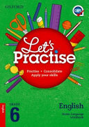 Books - Oxford Lets Practise English Home Language Grade 6 Practice Book | ISBN 9780199079599