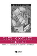 Text  Context  Pretext