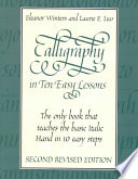 Calligraphy in Ten Easy Lessons Book