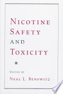 Nicotine Safety And Toxicity Book PDF