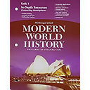 Modern World History Patterns Of Interaction In Depth Resources Unit 1 Grades 9 12 Book PDF