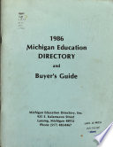 Michigan Education Directory and Buyer's Guide