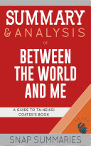 Summary & Analysis of Between the World and Me Pdf/ePub eBook