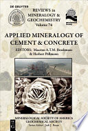 Applied Mineralogy Of Cement Concrete