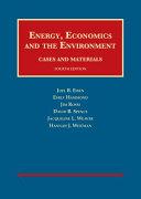 Energy  Economics and the Environment