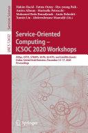 Service Oriented Computing     ICSOC 2020 Workshops
