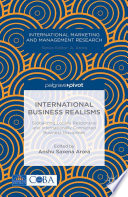 International Business Realisms  Globalizing Locally Responsive and Internationally Connected Business Disciplines
