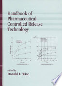 Handbook of Pharmaceutical Controlled Release Technology Book