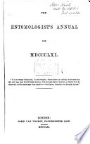 The Entomologist's annual