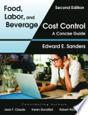 Food  Labor  and Beverage Cost Control