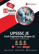 UPSSSC JE Paper 2 Civil Engineering  Concerned Subject  2021   10 Mock Test