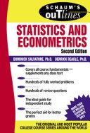 Schaum s Outline of Statistics and Econometrics