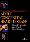 Diagnosis And Management Of Adult Congenital Heart Disease Book PDF