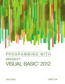 Programming with Microsoft Visual Basic 2012