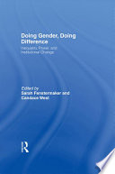Doing Gender  Doing Difference