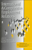 International And Comparative Employment Relations