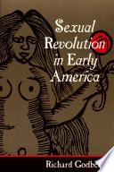 Sexual Revolution in Early America Book