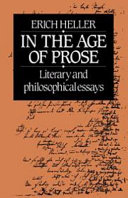 In the Age of Prose