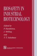 Biosafety in Industrial Biotechnology ebook