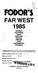 Pdf Fd Far West 1985