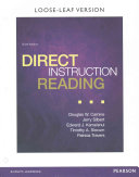 Direct Instruction Reading   Pearson Etext Access Card Book