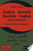 English -- Kurdish, Kurdish -- English