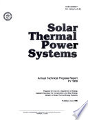 Solar Thermal Power Systems Book
