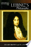 Read Online Historical Dictionary of Leibniz's Philosophy For Free