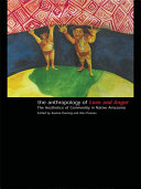 Pdf The Anthropology of Love and Anger Telecharger