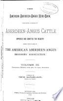The American Aberdeen Angus Herd book Book PDF