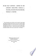 In Re Walt Whitman Pdf/ePub eBook