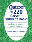 Pdf Quizzes for 220 Great Children's Books