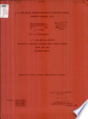 Annual Progress Report   U  S  Army Medical Research Institute of Infectious Diseases Book