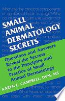 Small Animal Dermatology Secrets E Book Book PDF