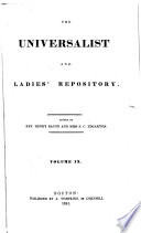 The Universalist and Ladies  Repository