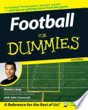 """Football For Dummies®"" by Howie Long, John Czarnecki"