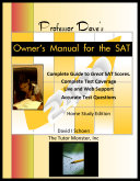 Professor Dave's Owner's Manual for the SAT