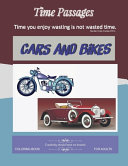 Cars and Bikes Coloring Book for Adults