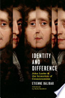Identity and Difference Book