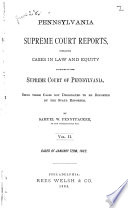 Pennsylvania Supreme Court Reports