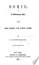 Osric  a Missionary Tale Book PDF